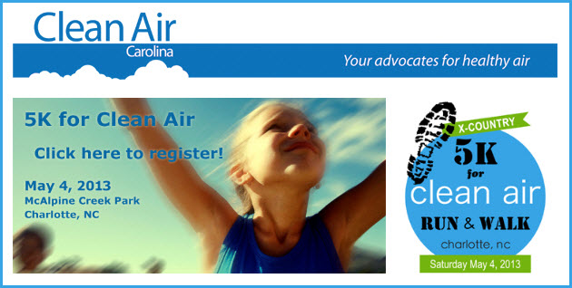 Clean Air Carolina Run 2013