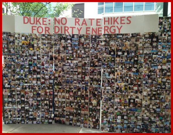 No Rate Hike For Dirty Energy Photos