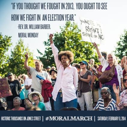 Feb 8 2014 Moral Monday