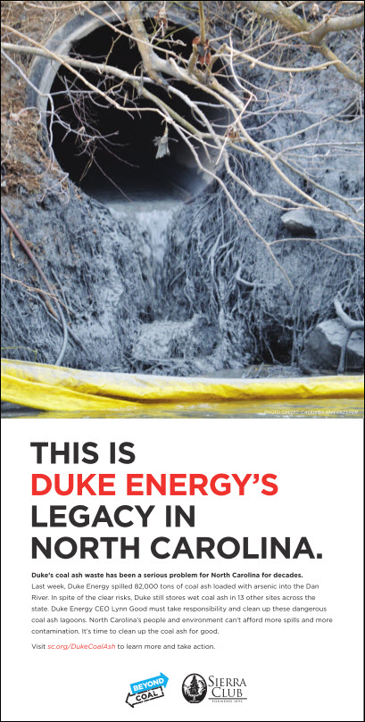 Stop Duke Coal Ash Ad