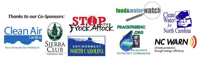 Fracking Tour Sponsors
