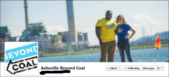 NC Beyond Coal Asheville Faccebook