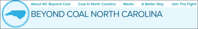 NC Beyond Coal Website