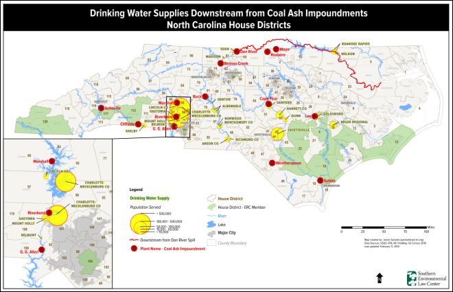 Coal Ash Ponds and Drinking Water