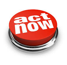 Take Action Act Now Button