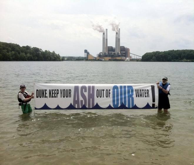 Belews Lake Coal Ash Banner