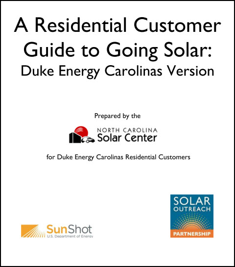 Duke Solar Residential Guide