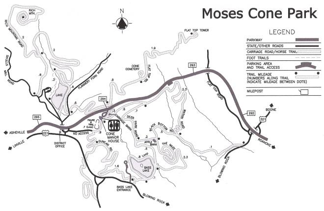 MosesConeParkMap0039