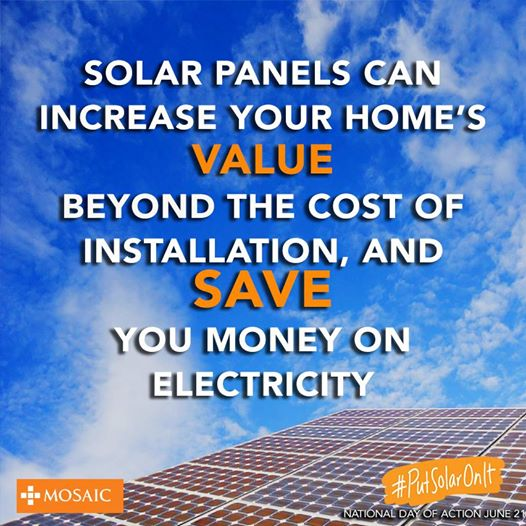 Put Solar On It Save Money