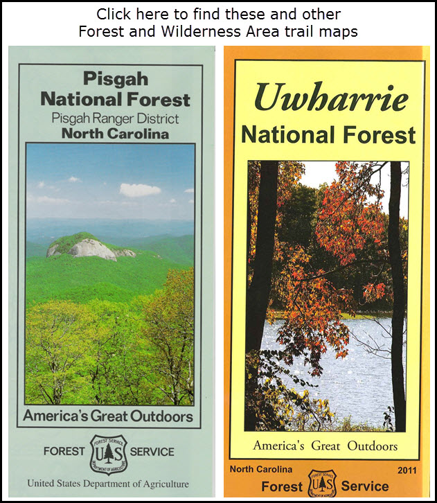 NC Forest Maps