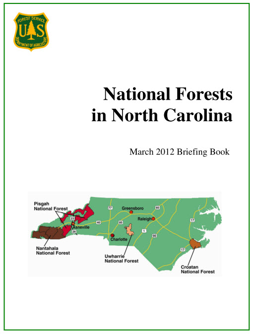 NC National Forests 2012 Data Book