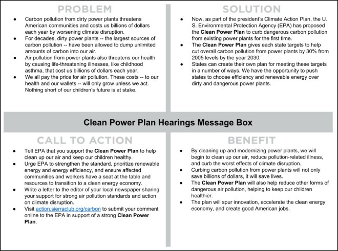 Power Plan Message Box