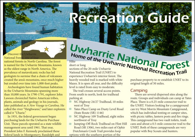Uwharrie Recreation Guide