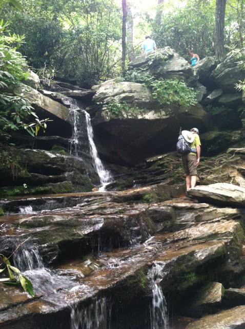 Hidden Falls Hike