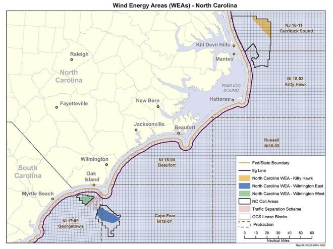 NC Wind Areas