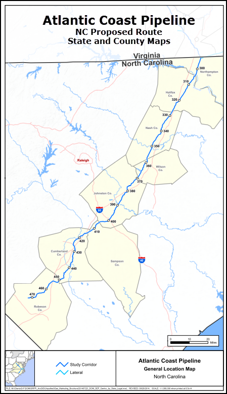 ACP NC and County Maps