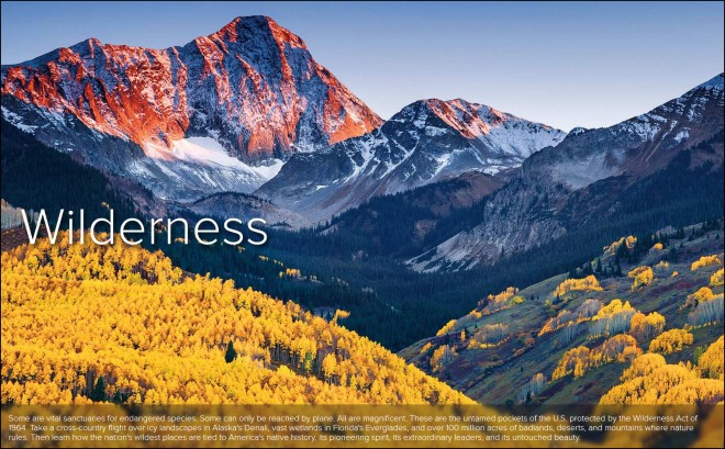 Aerial America Wilderness
