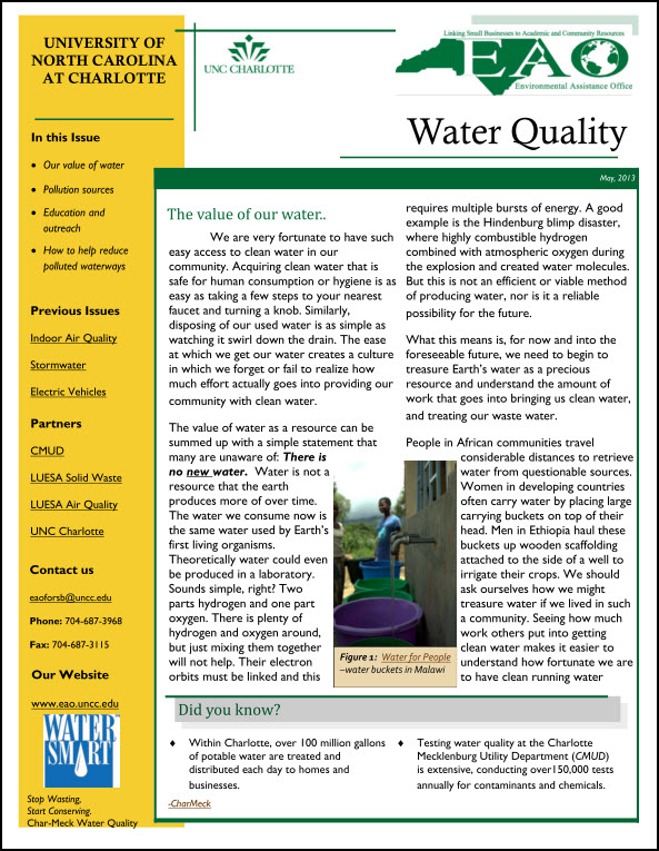 Char Water Quality