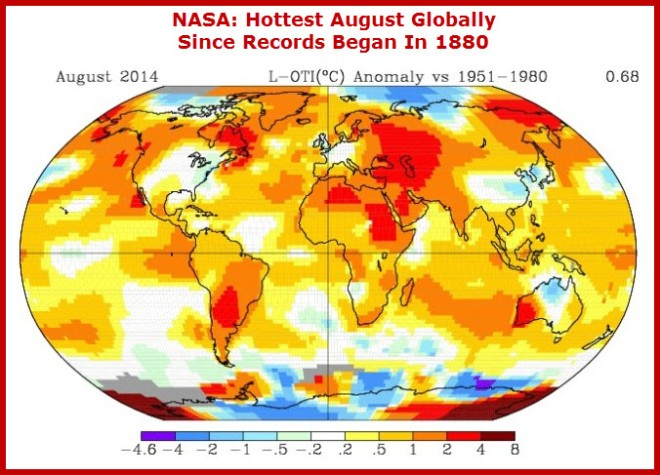 Hottest August on Record