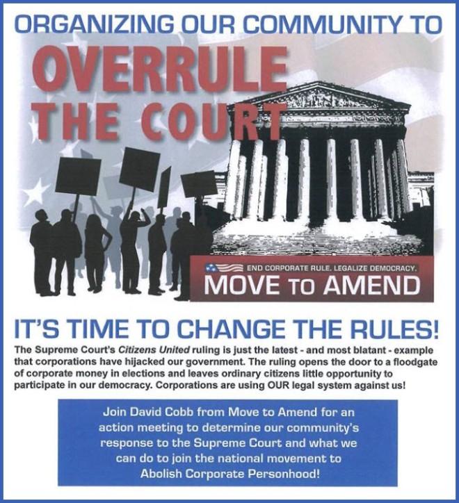 Move to Amend Program