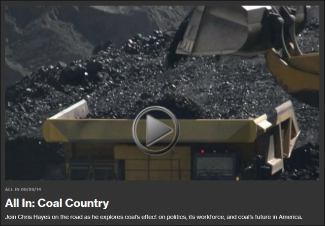 Coal Country MSNBC Trailer
