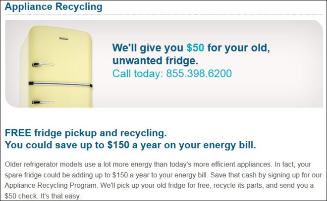 Duke EE Appliance Recycling
