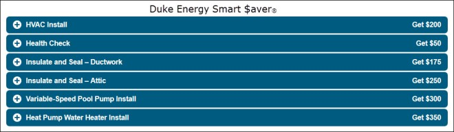 Duke EE Smart Saver List