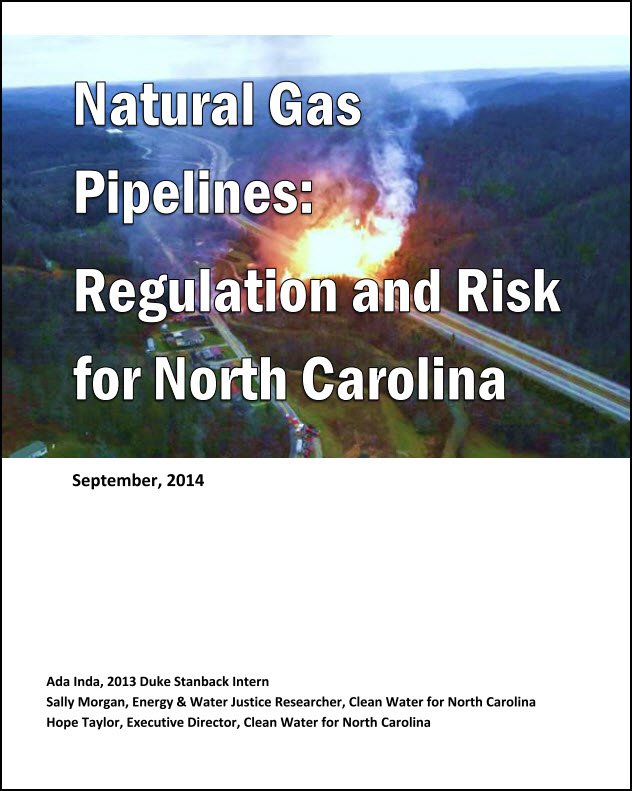 Fracking Pipelines and NC