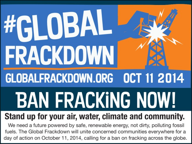 Global Frackdown Oct 11 2014