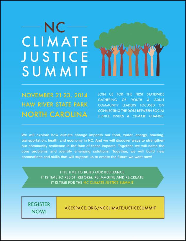 NC Cliamte Justice Summit