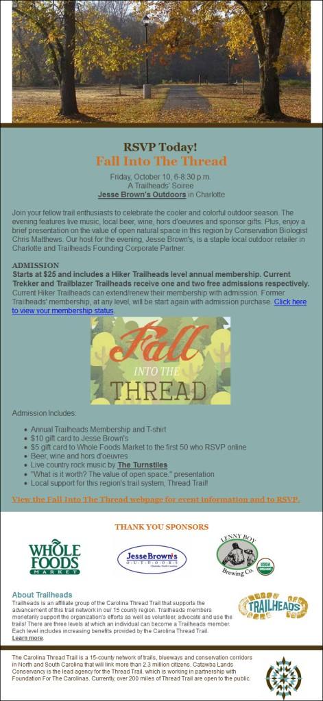 Trailheads 2014
