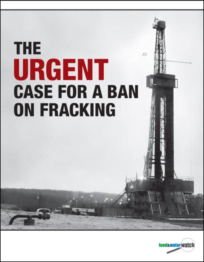 Urgent Case Fracking Ban
