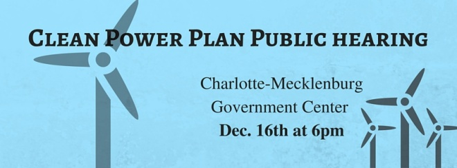 Public hearing on Clean Power Plan image